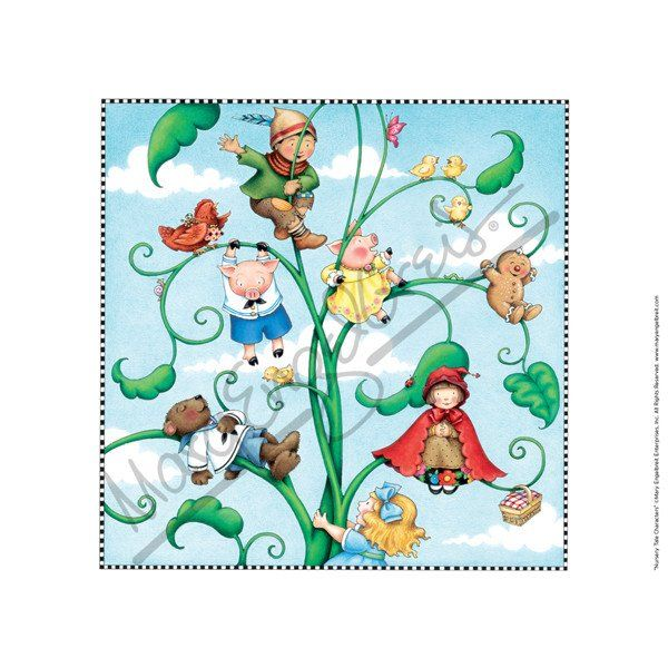 Nursery Tales Characters Fine Print – Mary Engelbreit Studios