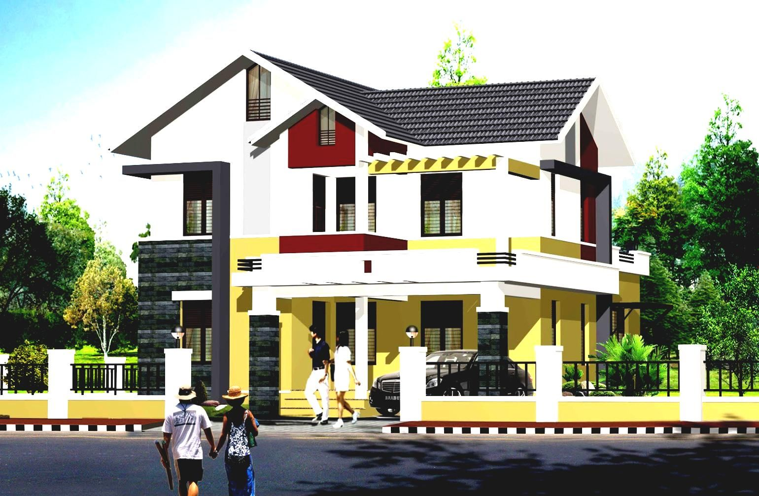 Modern Exterior Home Design Pictures 2017 Of Best Exterior Paint