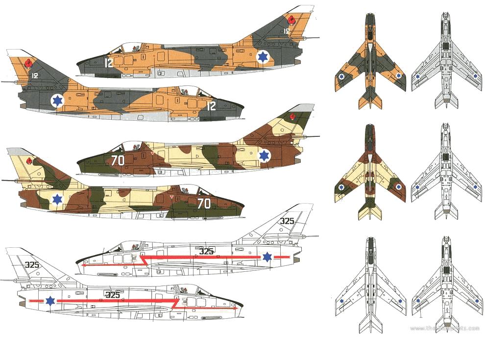 Israel's Dassault Super Mystere