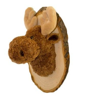 Hangimals Mason The Moose Baby S Nursery Plush Animal Head Mount