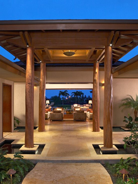 Pin On Asian Tropical Home Designs