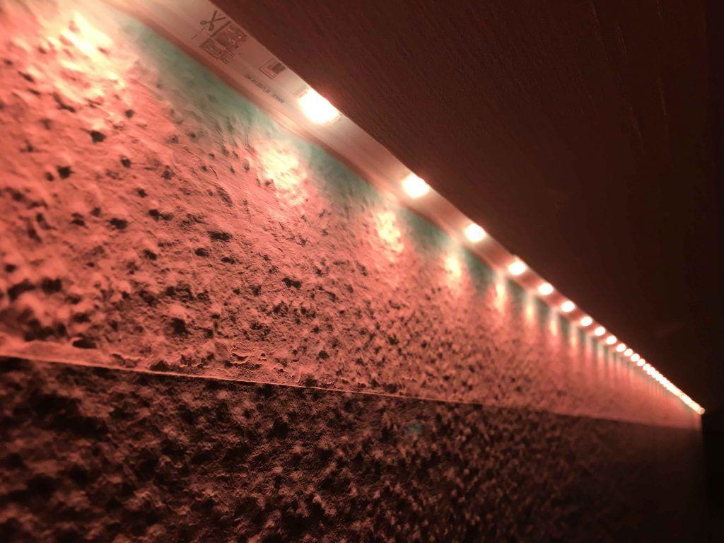 Eine Schattenfuge Sinnvoll Zur Beleuchtung Nutzen Hobbyblogging Beleuchtung Indirekte Beleuchtung Schatten