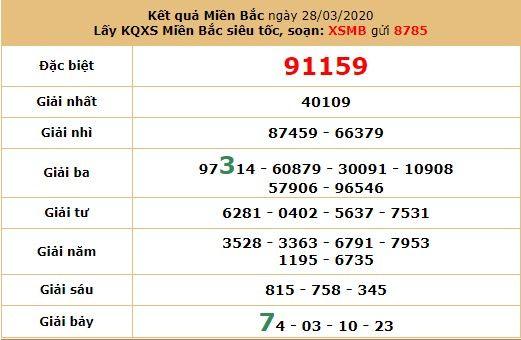 dự đoán xsmb 31-3-2020