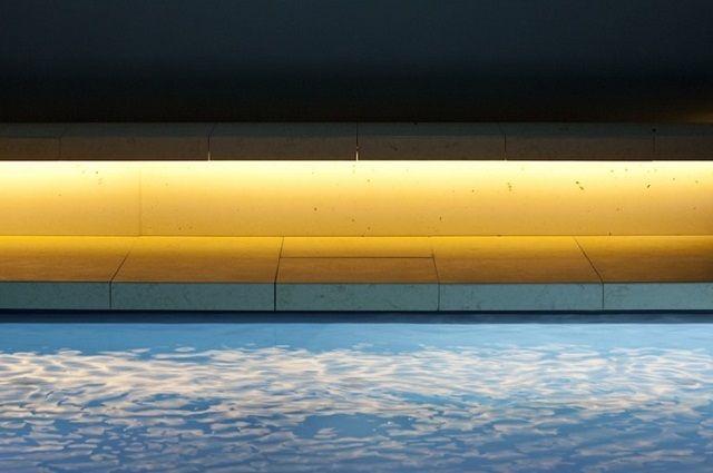 Schwimmbäder Darmstadt das perfekte beton schwimmbad ian shaw architekten