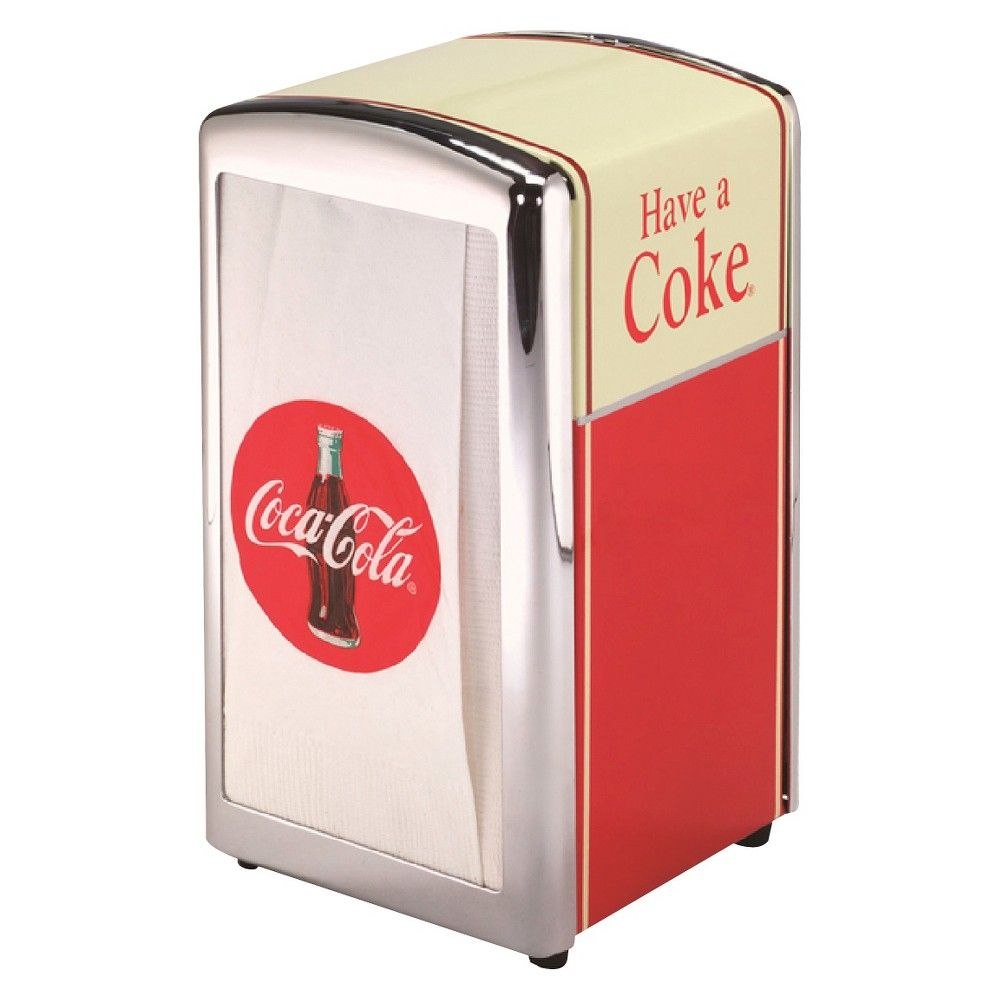 Keep your napkins within reach with TableCrafts Coca-Cola