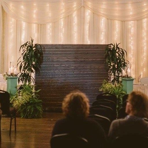 Wedding Ceremony Being Held In Same Room As Reception