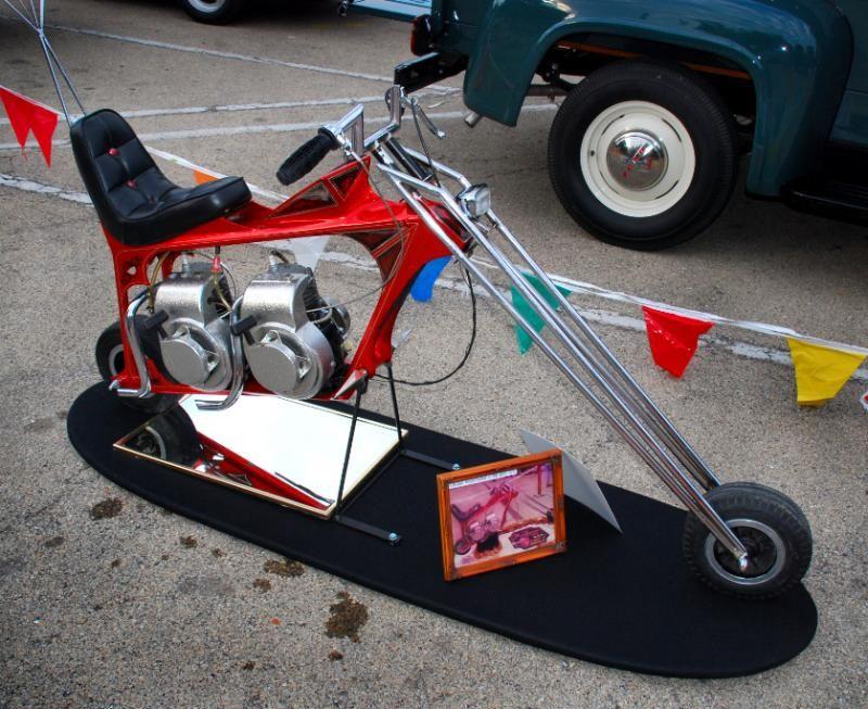 Dual Engine Chopper Mini Bike Minibike Pinterest Mini Bike