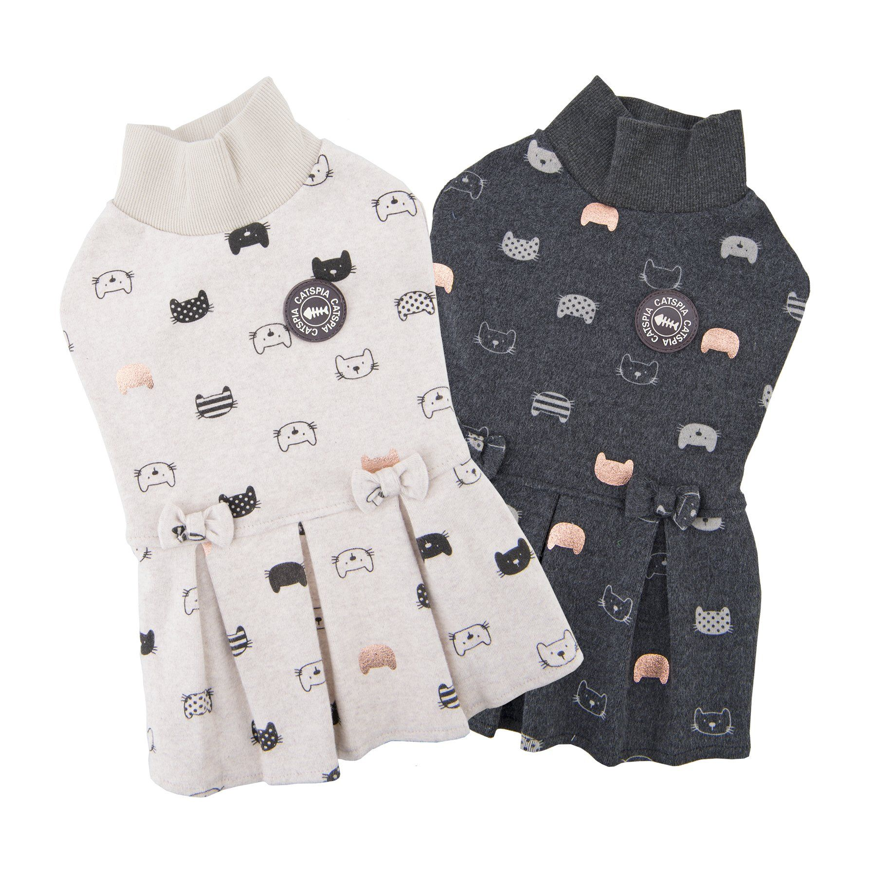 Catspia Belle Charcoal Grey M Check Out The Image By Visiting The Link This Is An Affiliate Link Catapparel Moda Para Perros Moda Vestidos