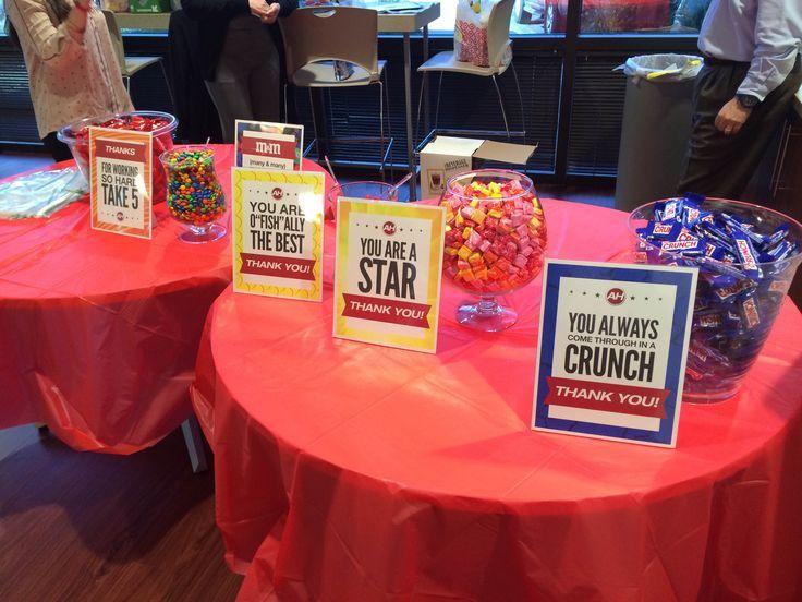 Candy Buffet for Customer Service Appreciation Week ...