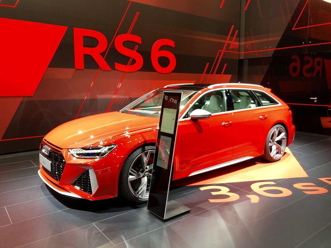 2020 Audi RS6 Avant bows at Frankfurt with 592 hp, 190-mph ...