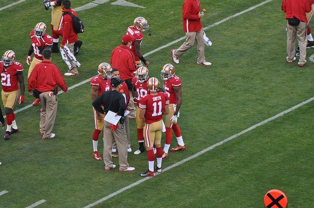 San Francisco 49ers vs Detroit Lions by SpeersM5, via Flickr