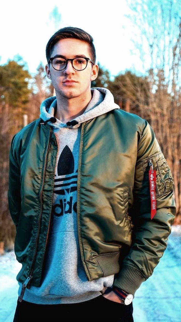 Pin By Vladimir Djuranovic On Fashion Adidas Outfit Men Denim Jacket Men Outfit Bomber Jacket Men [ 1334 x 750 Pixel ]