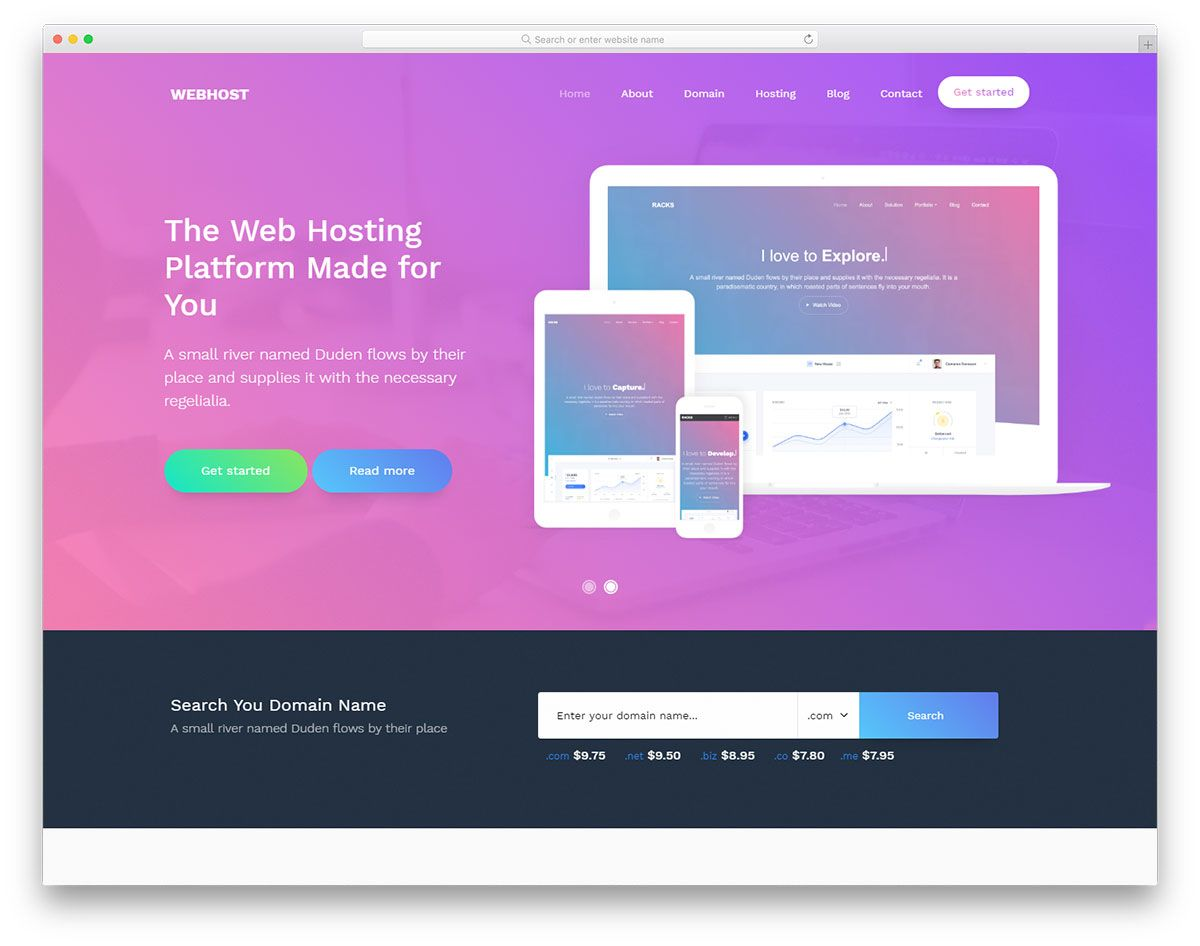 Top 70 Free Bootstrap Landing Page Templates 2020 Дизайн