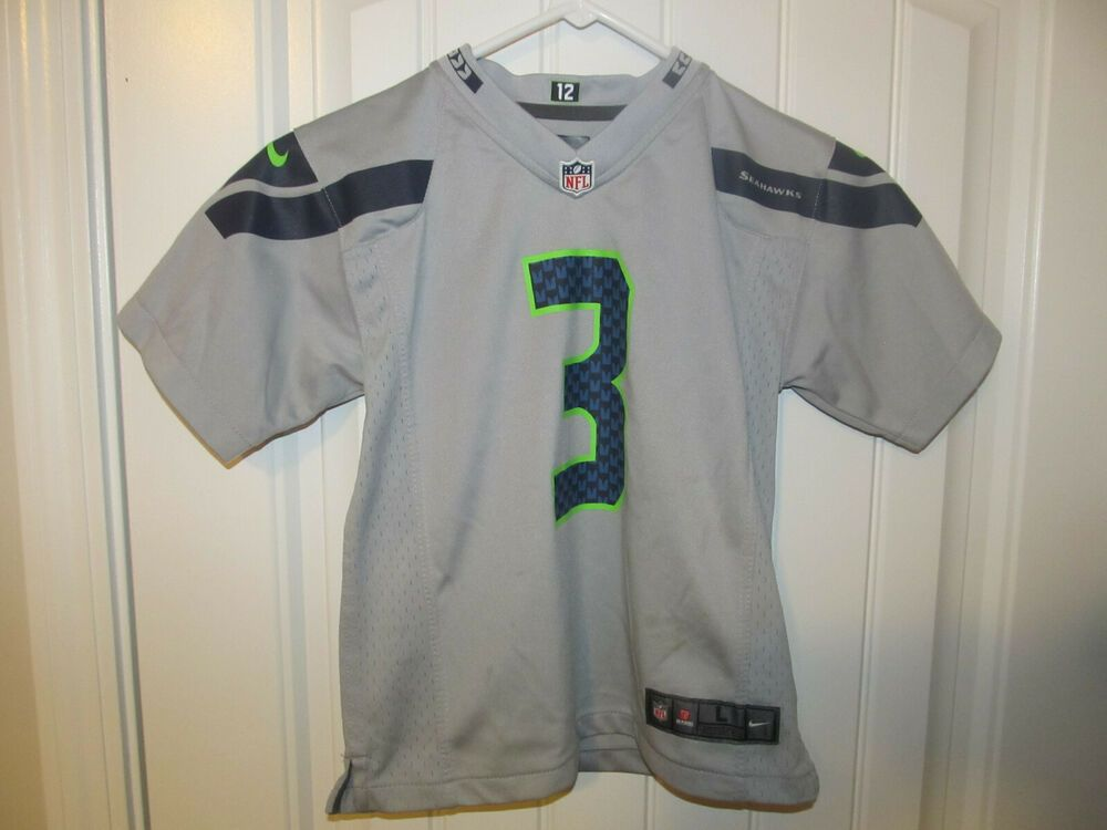 separation shoes d034a 19a9f Russell Wilson - Seattle Seahawks jersey - Nike Toddler 6/7T ...