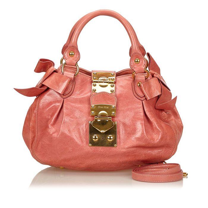 20a4e7e54d8 Catawiki online auction house  Miu Miu - Leather Coffer Shoulder bag ...
