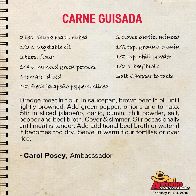 Spice up your dinner menu with this easy recipe; Carne Guisada - dinner menu