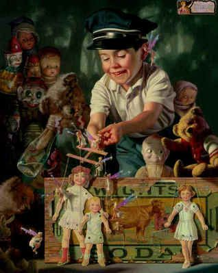 The Puppeteer by BobByerley