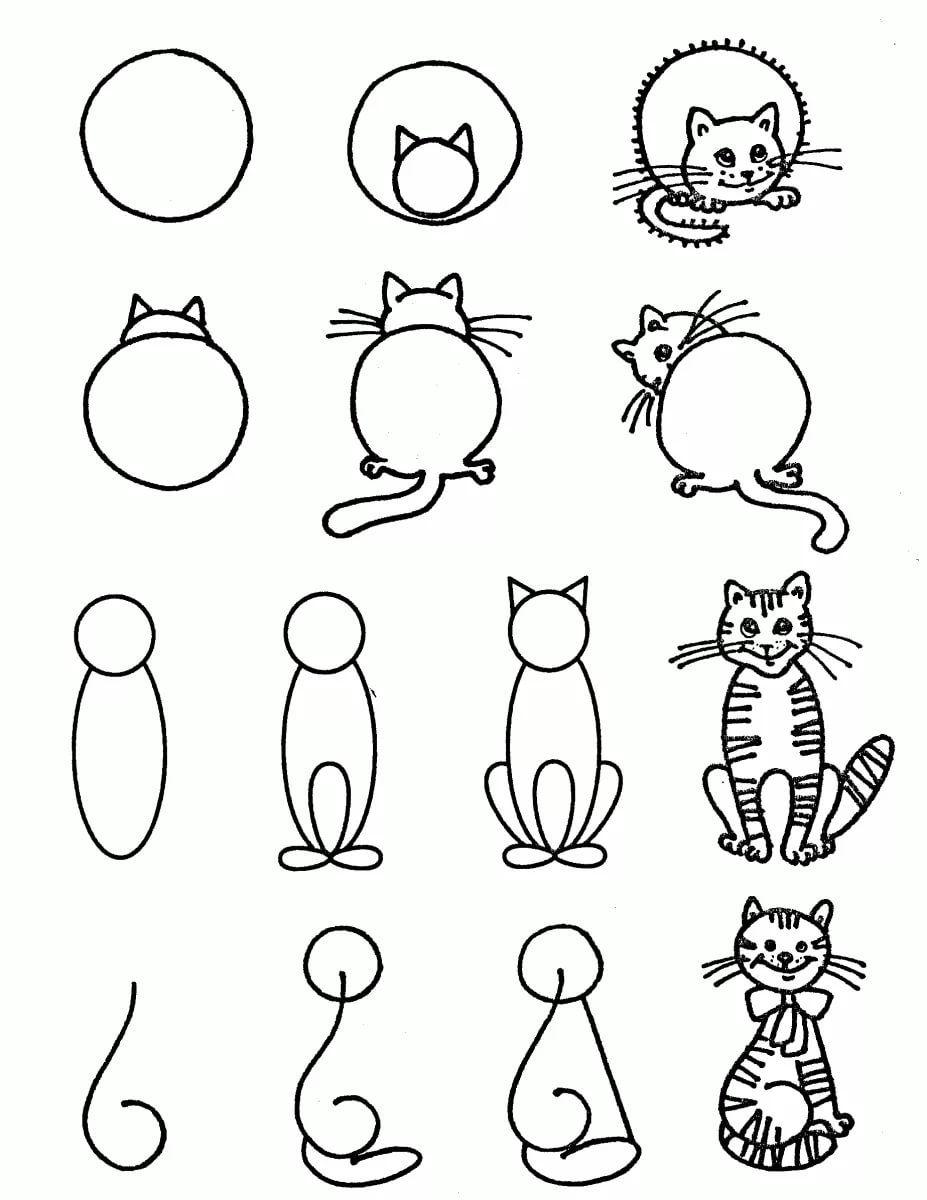 Uchitsya Risovat Detyam 6 7 Let 17 Tys Izobrazhenij Najdeno V Yandeks Kartinkah Easy Drawings Art Drawings For Kids Doodle Drawings