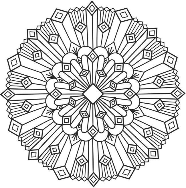 Pin de Michelle Schmidt en Coloring Pages | Pinterest | Mandalas ...
