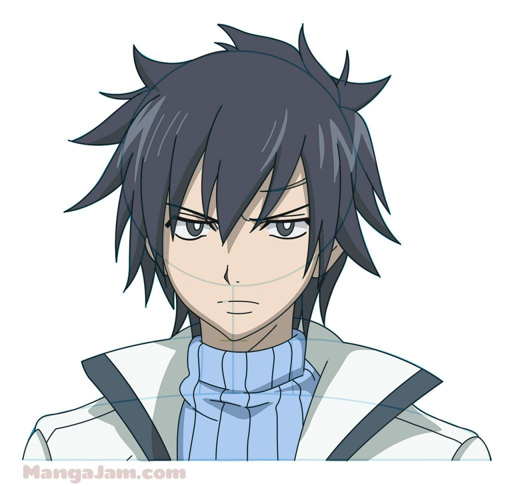 How To Draw Gray Fullbuster From Fairy Tail In 2020 Fairy Tail Gray Fairy Tail Art Fairy Tail Characters