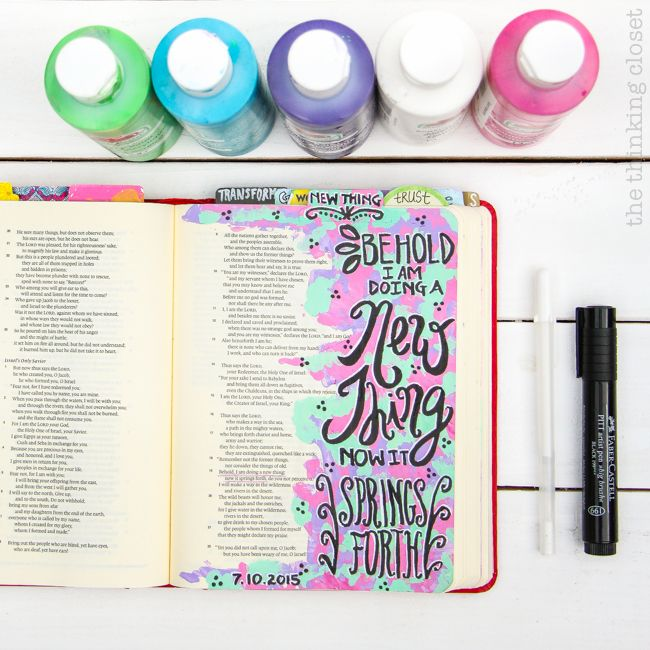 """My 20 Favorite Journaling Bible Supplies 