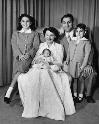 Family Portrait: Danny and Rose Marie Thomas with their ...