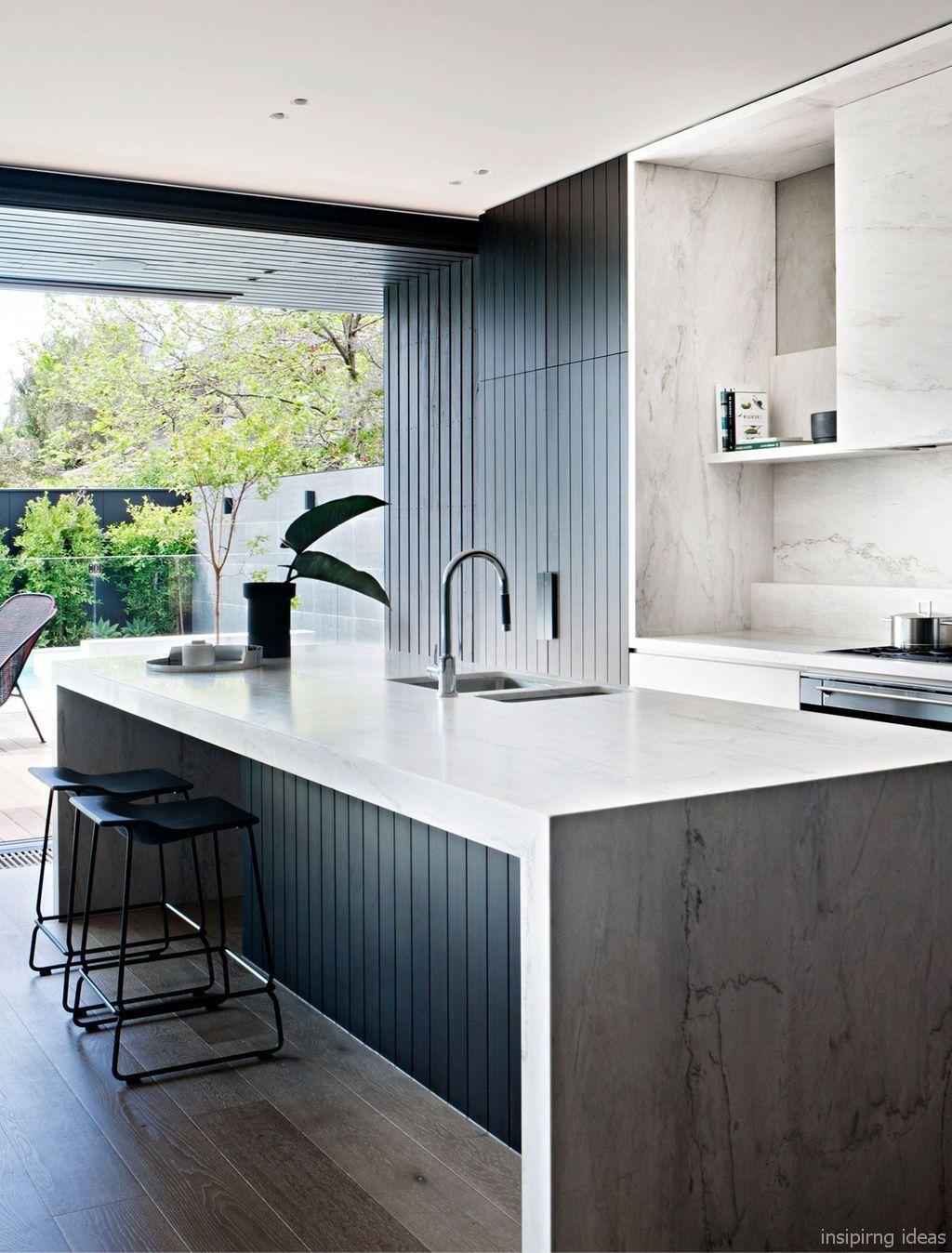 Luxury Modern Kitchen Design Ideas 84 In 2020 Modern Kitchen