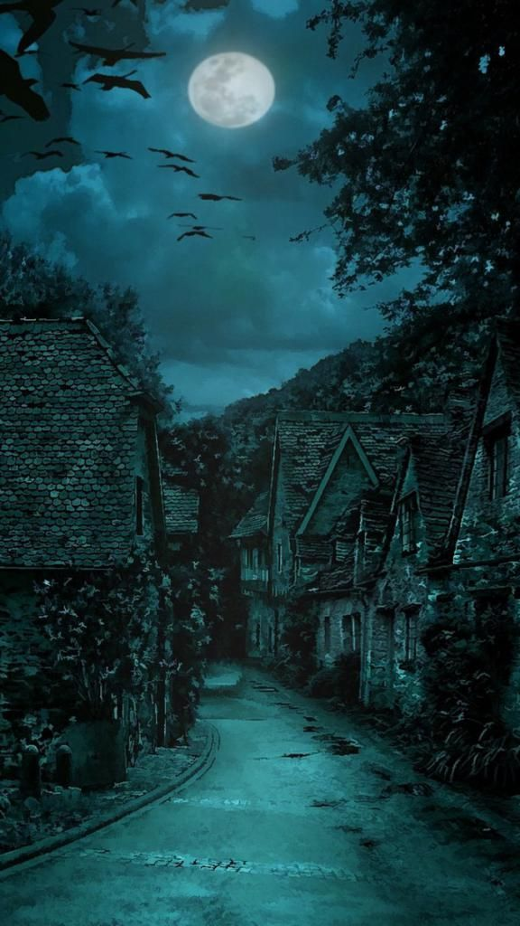 Best Wallpaper For Iphone X The Dark Village Horror Iphone 6 Wallpaper 4k Hd Fantasy Landscape Landscape Fantasy Places