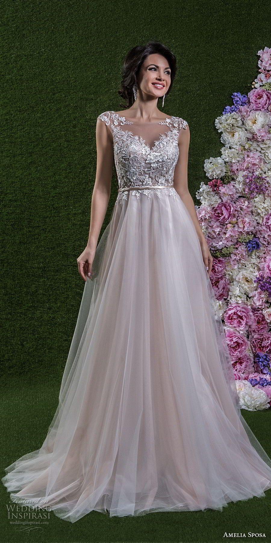 Wedding dresses springfield mo  Amelia Sposa  Wedding Dresses  Amelia sposa Chapel train and