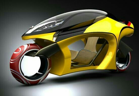 """""""Sampdesign Leo motorcycle allows safe and comfy ride on longer trips"""""""