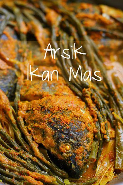 Resep Ikan Mas : resep, Arsik, Resep, Masakan, Indonesia,, Makanan, Minuman