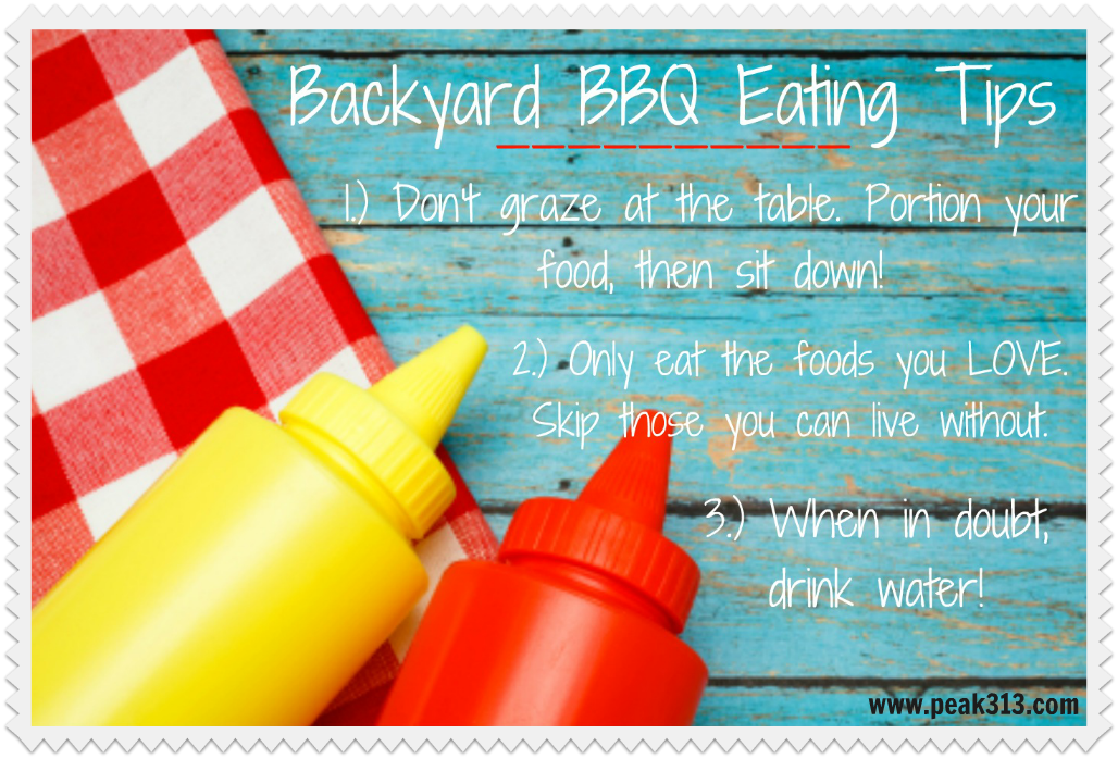 Backyard BBQ Healthy Eating Tips