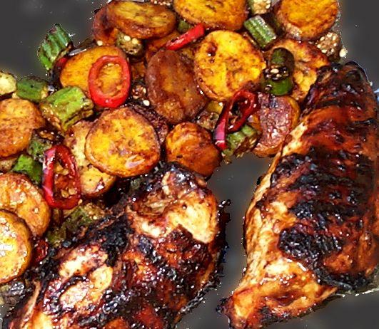 Jamaican jerk chicken soooo goood low carb and yummy jamaican jerk chicken soooo goood jamaican food recipesjamaican forumfinder Choice Image
