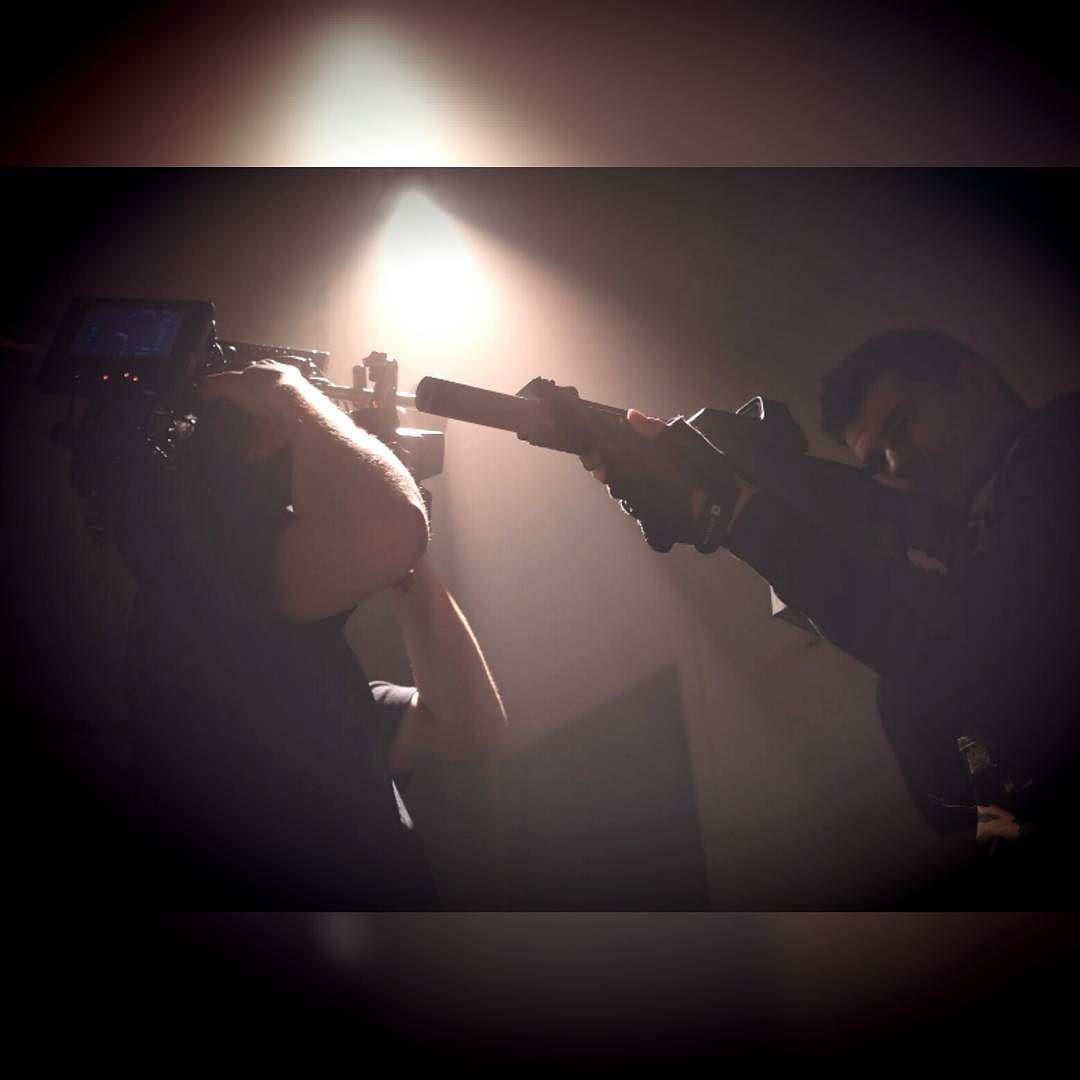Had a blast shooting this action scene this weekend! Thanks for the pic @killiands  #filmstudent #filmschool #filmmaking #thomasrental #Narafi #gewoonshooten #action #gun #sonya7s #fresnel #smoke #dop