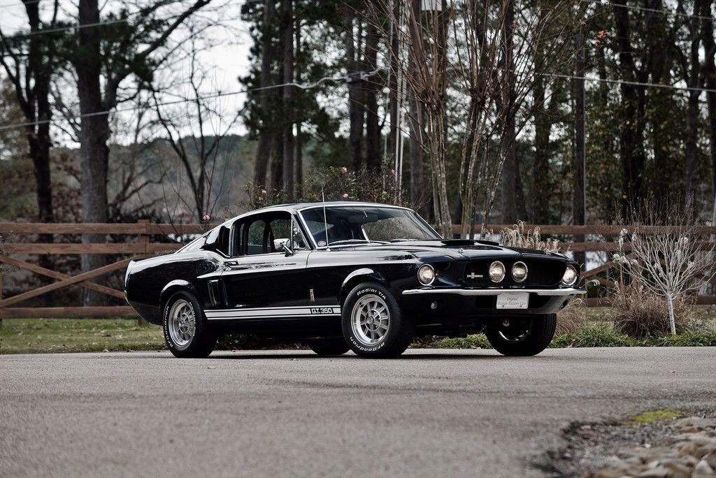 Black, Ford Mustang Shelby GT350, Muscle Car Wallpaper