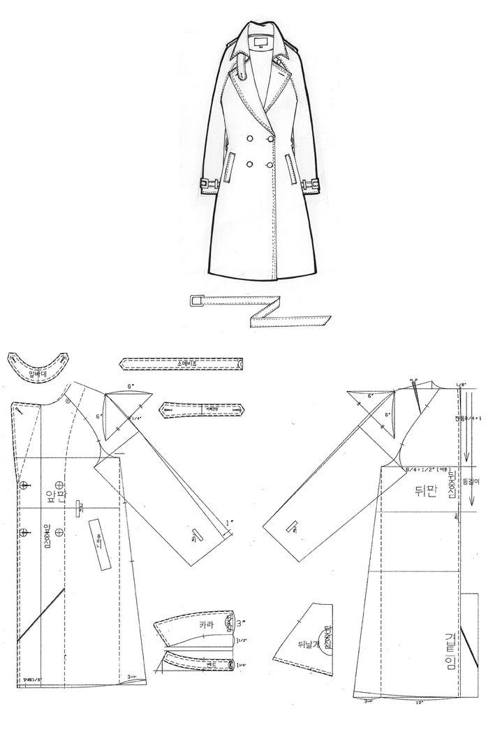 Kara, trench coat sleeves, Napoleon Lagrangian | ropa de muñeca ...