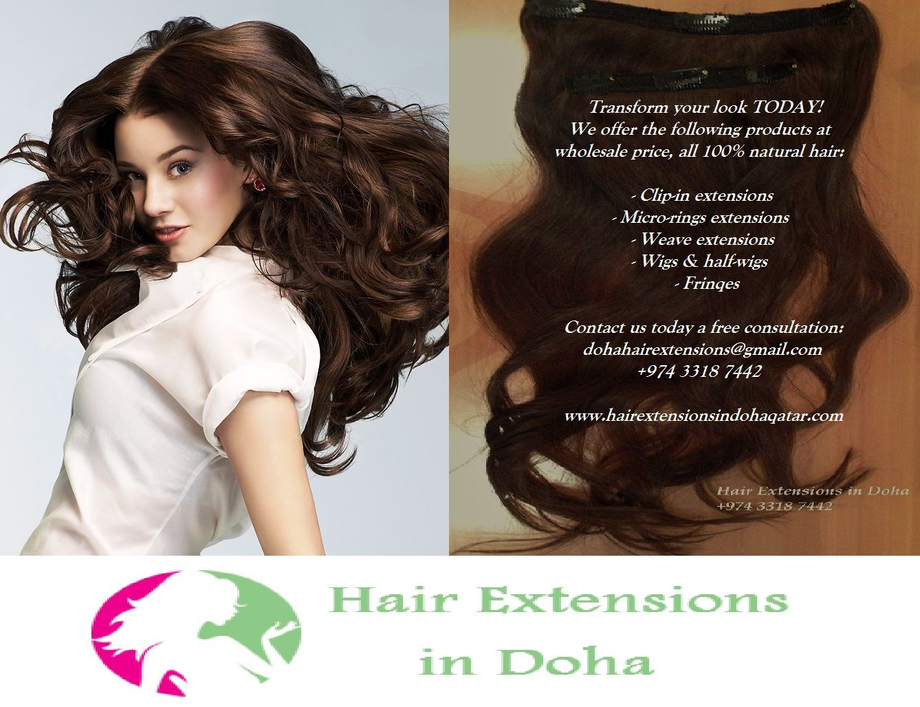 We are the most affordable supplier of top quality hair extensions we are the most affordable supplier of top quality hair extensions in qatar all products are sold at wholesale prices products clip in extensions weft pmusecretfo Gallery