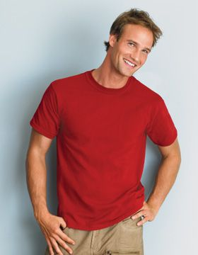 """Gildan Dry-Blend 50/50 Short Sleeve T-Shirt. 50% cotton/50% dryblend cotton-polyester jersey 5.6-oz.  fabric   seamless double-needle 7/8"""" collar taped neck and shoulders double-needle sleeve and bottom hems quarter-turned to eliminate center crease- Arizona Cap Company - (480) 661-0540 Custom Printed & Embroidered. Visit our website for the colors available and the price."""