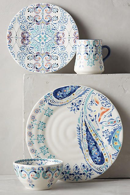 Swirled Symmetry Dinner Plate - anthropologie.com & Swirled Symmetry Dinner Plate | Dinnerware Kitchen ware and Pottery