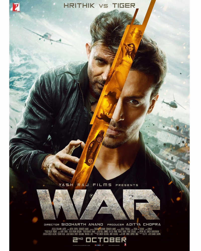WAR Hrithik VS Tiger   Film Release 20nd October   Download ...