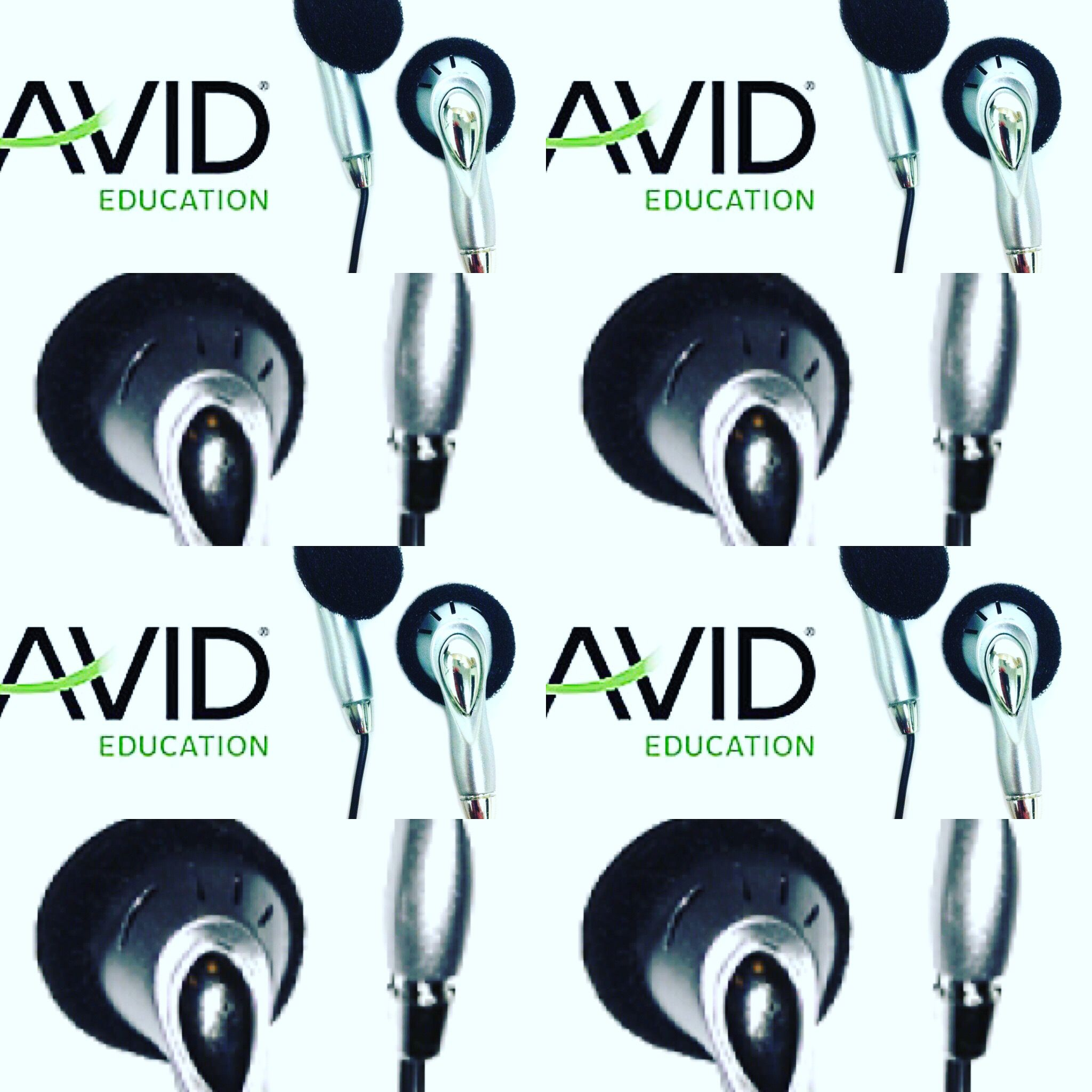 AVID TT3 DISPOSABLE STEREO SILVER EARBUDS 6 foot