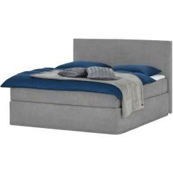 Photo of Boxspringbett – grau – 180 cm – 125 cm – Betten > Doppelbetten Möbel Kraft