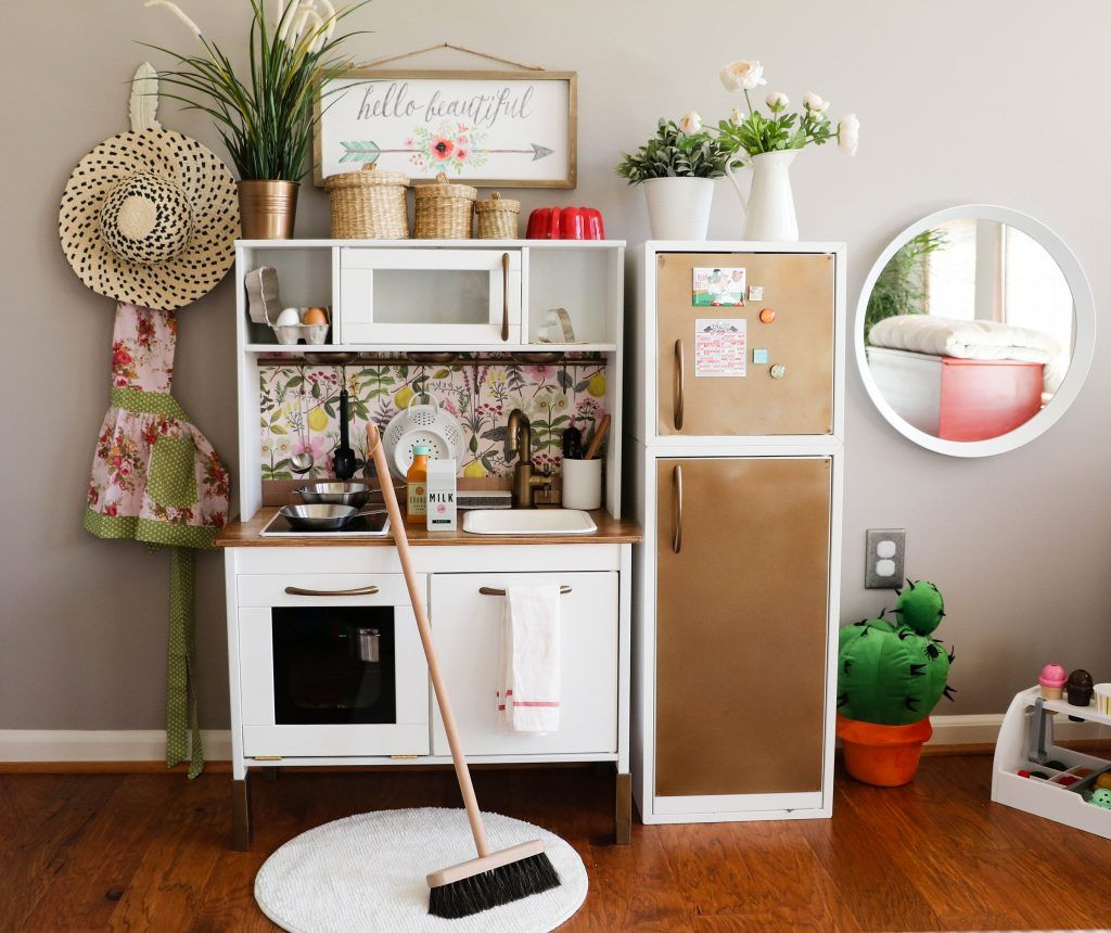 Photo of IKEA Hack: Building Your Child's Dream DUKTIG Play Kitchen – Saving Amy