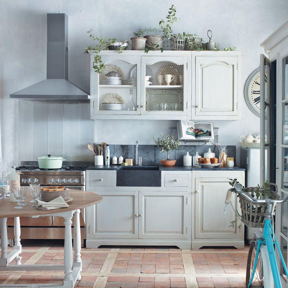 Meubles de cuisine | Landhausküchen | Shabby chic küche ...