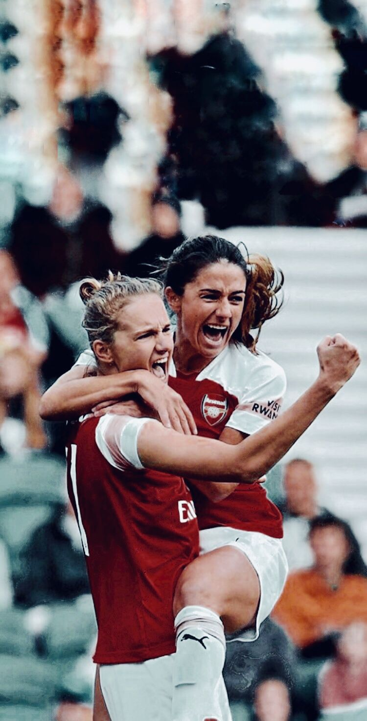 Vivianne Miedema And Danielle Van De Donk Arsenal Ladies Women S Soccer Womens Soccer