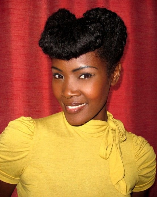 Fine 1000 Images About Vintage Style On Pinterest Black Pin Up Short Hairstyles For Black Women Fulllsitofus