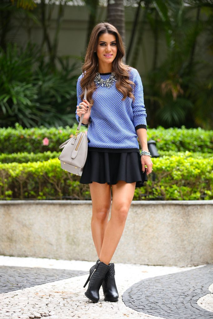 MODA - TRICOT E SAIA! - Juliana Parisi - Blog