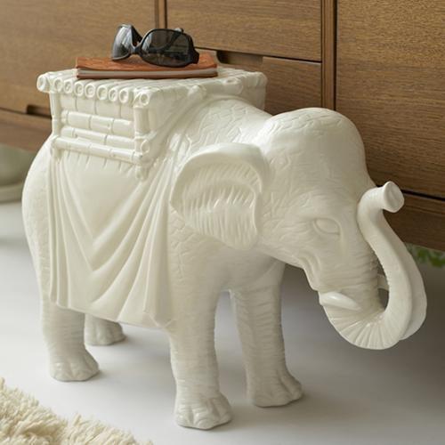 InStyle-Decor.com Beverly Hills Elephant Stool / Side Table ... on elephant art, elephant furniture, elephant bathroom, cat design home, elephant logo design, elephant graphic design,