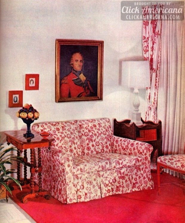 Home decor, 1959-style: Be generous with color | Colonial, Mid ...