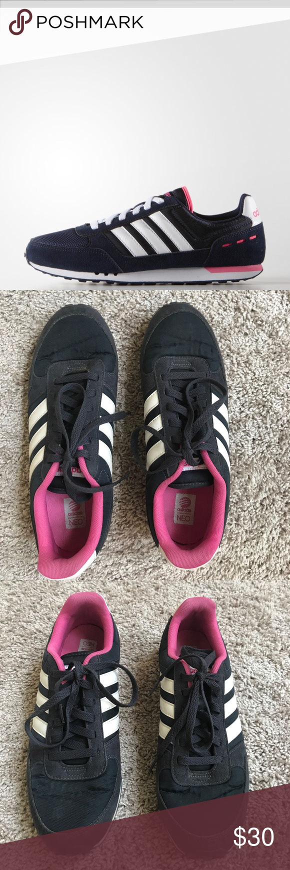 Adidas Neo Ortholite City Trainer Sneakers | New sneakers, Adidas ...